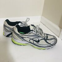 Nike Zoom Running Bowerman Series Shoes Sneakers Men's Size 10.5 Silver/Green