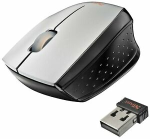 Trust Isotto Wireless Mini Mouse for PC, Laptop - Grey