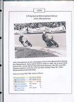 565176 / Motorrad Beleg Autogramm John Hempelman