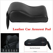Universal Car Center Console Arm Rest Cover Seat Box Pad PU Leather Armrest Mat
