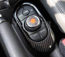 US STOCK CARBON LOOK iDrive Control Console Panel for MINI Cooper S F55 F56 F57