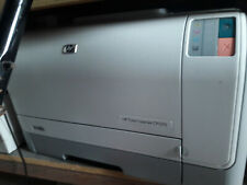 HP Color Laserjet CP1215 Workgroup Printer bundled with installed toners/cords