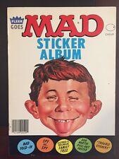 MAD Magazine Fleer Goes MAD Sticker Album