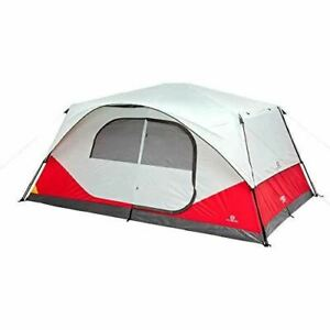 10-Person Instant Pop up Tent for Camping with Carry Bag and Rainfly Perfect for
