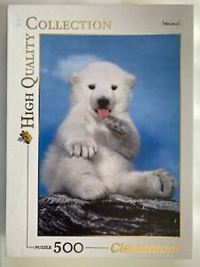 Clementoni Polar Bear Animal Collection 500 Piece Jigsaw Puzzle