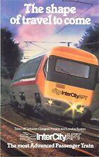VINTAG  shape of travel to come InterCityAPT the most Advanced Passenger Train