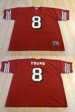 Men's San Francisco 49ers Steve Young XL Jersey Vintage Logo Athletic Jersey