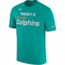 Miami Dolphins NFL Men's Nike Property of Tee Shirt Size Small - With Tag