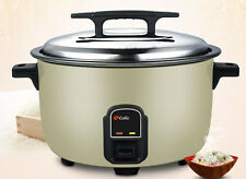 23L Commercial Electric Heating Cookers Steaming Cooking Kitchen Rice Cooker
