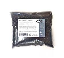 Carbón Activado 400g-Carbón Granulado tanque de los pescados pequeños acuarios de medios de filtro