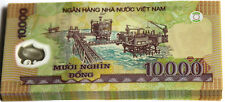 VIETNAMESE DONG UNCIRCULATED SERIALLY NUMBERED 10 X 10,000 =100,000 Dong