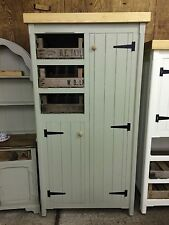 Pine Kitchen Cupboard Unit Pantry Housekeepers Larder In Any Colour Utility Room