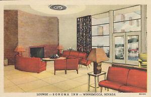 WINNEMUCCA NV Sonoma Inn Lounge