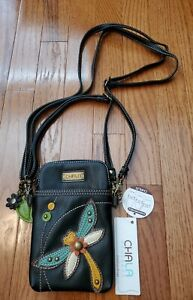 Chala Convertable Crossbody/Purse/Pouch *Dragonfly* NWT