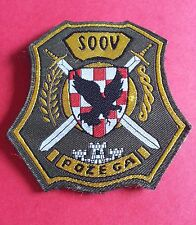 CROATIA ARMY PATCH - SOOV POZEGA...