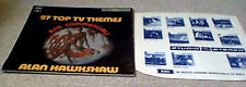 ALAN HAWKSHAW 27 TOP T.V. THEMES & COMMERCIALS KPM LIBRARY LP FUNK BREAKS LISTEN