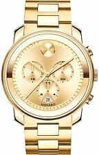 Authentic Movado Bold 3600278 Yellow Watch
