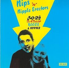 Bops, Babes, Booze and Bovver by The Nips / Nipple Erectors (CD, 2003) UK