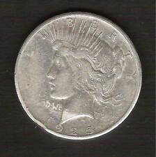 1925-S__Peace Silver Dollar__Nice XF Coin__#730831