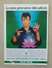 E113 - Advertising Pubblicità - 1987 - FUJI FILM PELLICOLE TEST. JULIAN LENNON