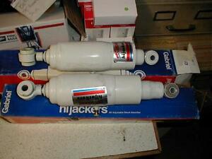 NOS GABRIEL HI JACKER REAR AIR SHOCKS 1987-95 JEEP WRANGLER