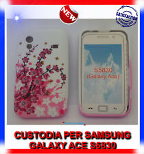 Custodia + Pellicola TPU CILIEGIO per Samsung Galaxy Ace S5830