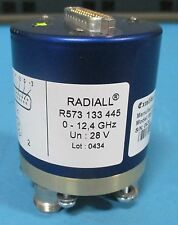Radiall R573133445 Coaxial Switch12.4GHz  28V