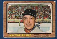HECTOR TOE BLAKE 66-67 TOPPS 1966-67  NO 1 VG++   2650
