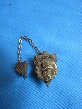 Vintage Old Man Of The Mountain White Mts New Hampshire Souvenir Pin 1947