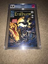 ERATHUNE #4 Extremely Rare CONVENTION  VARIANT CGC 9.8 1st BLACK PANTHER HOMAGE!