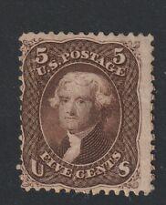 USA 1861 Scott # fine MINT original gum