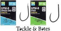 Preston Innovations GPM-B Spade & Eyed Hooks 9 Options Match Coarse fishing