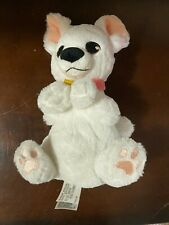 Disney Parks white bolt baby dog BOLT puppy lovey plush stuffed 11""