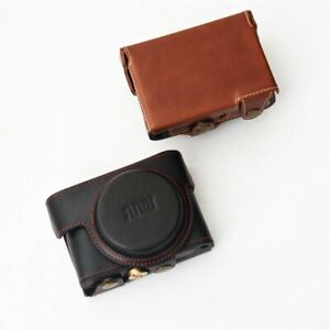 Genuine Leather Camera Case Bag Cover for SONY RX100 V II III IV M2 M3 M4 M5