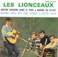 CD Single Les LIONCEAUX The Beatles Quatre Garçons Dans Le Vent EP REPLICA RARE
