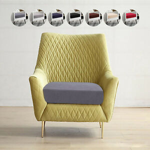 1 Seat Couch Sofa Seat Covers Elastic Knitted Protector Slipcover Cushion