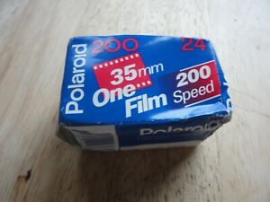 NEW Sealed Polaroid 35mm One Film 200 Color Film 24 Exp Exposures Expired 01/00