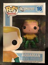 Funko Pop Dc Universe Aquaman #16 Vinyl Figure. Brand New in Box L@k! Vaulted