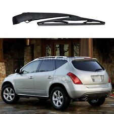 Rear Windshield Wiper Arm & Blade Set For Nissan Murano 2004 2005 2006 2007-2015