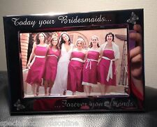 """Personalised Engraved 4 X 6"""" Portrait Photo Frame Godmother Godparents Gift on Your First Holy Communion"""