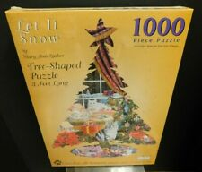 Spilsbury 1000 Piece Let it Snow Mary Ann Lasher Shaped Tree 5043 SEALED
