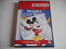JEU PC CD ROM - DESSINEZ, C'EST DISNEY / HITS COLLECTION - SANS NOTICE