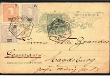 Portuguese Colonies MOZAMBIQUE Uprated Stationery Card Lourenco Marques 1911 SR9