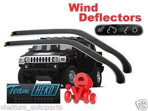 For HUMMER H2 Wind deflectors 2.pc  5.doors  HEKO  21502  for FRONT DOORS