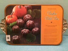 WILLIAMS-SONOMA Pumpkin Patch Pan Nordic Ware RETIRED NWT *Made in USA* RARE NOS