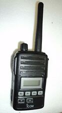 Icom F50v Vhf Portable Radio Tested Narrowband Fire Pager Great Condition