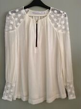 Nwot & other stories silk & viscose crochet top 34