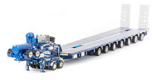 Drake Collectibles ZT09076 1/50 7x8 Steerable Metallic Blue Trailer With 2x8 DOL