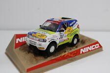 "Ninco 50564 Mitsubishi Montero ""Prieto"" Dakar 2001 1/32 #NEW"