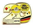 """WARSTEINER BALLON Pin / Pins - """"20"""" JAHRESZAHL 2010"""